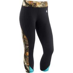 Women's Full Range Big Game Workout Capri Pants