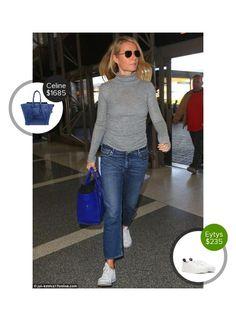 Gwyneth Paltrow spotted at LAX Airport - seen in Farfetch and carrying Celine. #celine #farfetch  #gwynethpaltrow @dejamoda