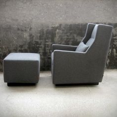 Sparrow Glider rocker by GUS made with FSC-Certified wood. Ottoman is also a glider. This is my dream nursing chair!