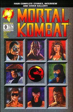 Mortal Kombat- Kano, Goro, Sonya Blade, Raiden, Sub-Zero, Johnny Cage, Scorpion and Liu Kang