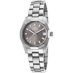 Invicta Women's Round Quartz Watch ($179) ❤ liked on Polyvore