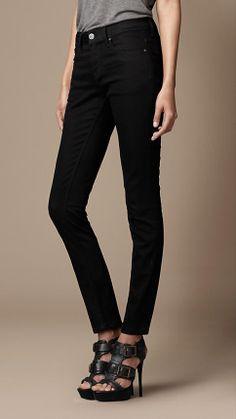 Burberry Brit Westbourne Black Skinny Jeans