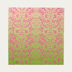 Pink and Green #Damask Printed #Napkin $50.60 set of 4  Made in the USA  #homedecor