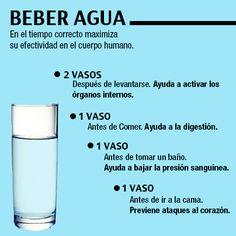 Beber Agua y sus beneficios