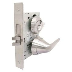 Anti-Ligature Mortise lock, lever, Grd. 1 by Townsteel. $683.10. Antiligature Lockset, Mortise, RX Series, Clutching Lever Style, Satin Stainless Finish, Function Privacy, Keyway Type Schlage C, Grade 1, Material Brass, Steel, Zinc, For Door Thickness 1-3/4 In., Backset 2-3/4 In., Number of Keys 2, Pins 6, Cylinder Standard or IC Core, Standards ANSI, UL, ADA, Fire Rated 3 hr., Case Size 4-7/16 x 6-1/16 x 1 In., For Use With Wood, Steel and Fiberglass Doors, Includ...