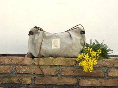 Minimal Handbag Minimal crossbody bag Minimal Purse by NagaLab