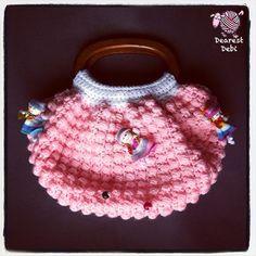 Crochet Fat Bottom Bag Doll Purse - Dearest Debi Patterns
