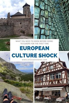 Are you a Canadian or an American traveller going to Europe for the first time? Get ready for a major European culture shock. Read on to discover main differences between the North American and European cultures so you know what to expect. Travel Tips, Travel Plan, Travel Articles, Travel Hacks, Travel Ideas, Travel Destinations, Slovenia Travel, Europe On A Budget, Culture Shock
