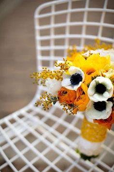 Orange Wedding Inspiration | Bouquet