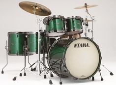 #Tama Starclassic Bubinga  #Drums : Jade Sparkle