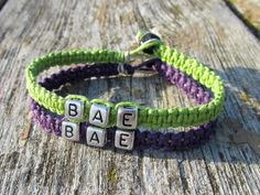 Bae Bracelets for Couples or Best Friends by MandarrCreations