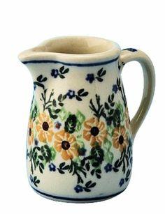 Polish Pottery Miniature Pitcher Toothpick Holder $12.95 Boleslawiec CA Pattern 1396 Polish Pottery,http://www.amazon.com/dp/B00G7612GW/ref=cm_sw_r_pi_dp_aROgtb01A3T2ME8T