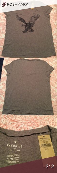 American Eagle T shirt New with Tags American Eagle T shirt. New condition. American Eagle Outfitters Tops Tees - Short Sleeve