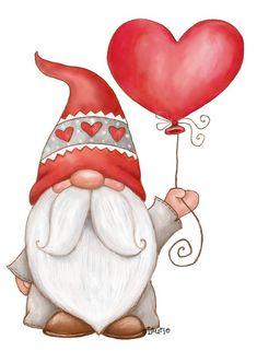 Christmas Drawing, Christmas Paintings, Christmas Gnome, Christmas Cross, Christmas Ornaments, Valentine Crafts, Valentines, Holiday Crafts, Holiday Decor