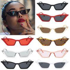 ed1e816f8d Vintage cat eye sunglasses women retro small frame fashion shades uv400  glasses