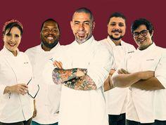 Entre os jurados, estão os chefs Henrique Fogaça e o vice-campeão do MasterChef Raul Lemos.