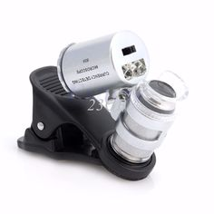 2017 NEW Optical LED Microscope Mobile Phone Lens Jeweler Magnifier Glass MAR31_17 //Price: $3.78//     #storecharger
