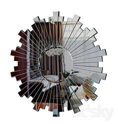Mirror GARDA DECOR 3d Mirror, 3d Models, Texture, Diy, Home Decor, Free, Surface Finish, Decoration Home, Bricolage
