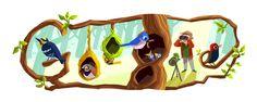 Google Doodle goes to the birds for bird-watcher Phoebe Snetsinger - CNET