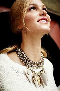 #Lilium #Necklace via #Anthropologie