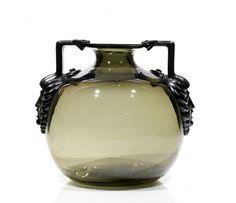 Lalique - Glass Vase.
