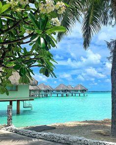 Dream Vacation Spots, Dream Vacations, Destinations, French Polynesia, Bora Bora, Beautiful Islands, Marina Bay Sands, The Incredibles, City