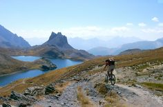 Mountain biking in Vallée de l'Ubaye, France