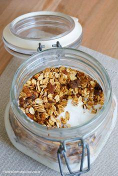 Homemade granola come da California Bakery