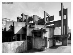 Built in the 60´s , designed by sculptor Josef Rikus and architect Heinz Buchmann.  location : cologne , germany