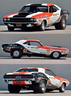 The Last Dick Landy Driven E-body Mopar Dodge Muscle Cars, Custom Muscle Cars, Custom Cars, Old Race Cars, Us Cars, Drag Cars, American Muscle Cars, Drag Racing, Auto Racing