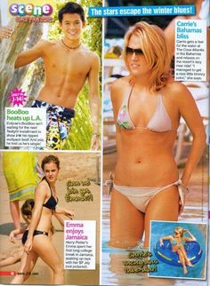 BOOBOO STEWART - SHIRTLESS - EMMA WATSON - PINUP - CLIPPING  | eBay