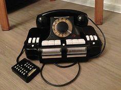 Soviet antique phone USSR KD-6 Vintage Russian BAKELITE ROTARY telephone