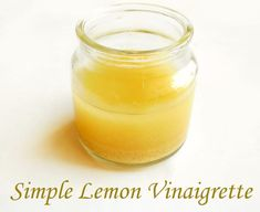A very light, simple and easy to make Homemade dressing. This Lemon Vinaigrette recipe takes only 5 minutes to prepare. Use it on salads or pasta There are only five ingredients required to make this Lemon Vinaigrette Dressing, Salad Dressing Recipes, Salad Dressings, Smoothie Recipes, Snack Recipes, Cooking Recipes, Yummy Recipes, Healthy Recipes, Recipes