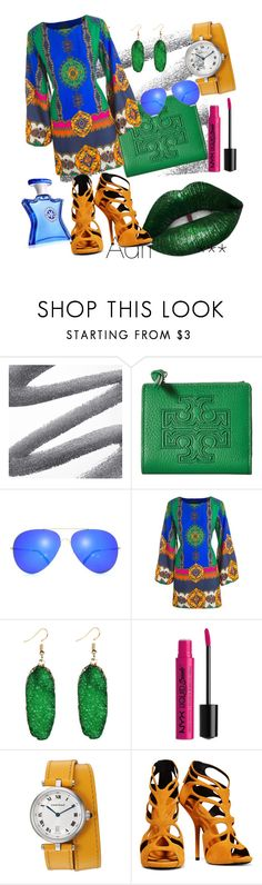 """""""Color of your life"""" by adriane-quoos ❤ liked on Polyvore featuring Tory Burch, NYX, Giuseppe Zanotti and Bond No. 9"""