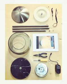 assembly parts Ovalo floor lamp