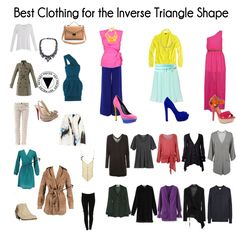 how to dress an inverted triangle, wedge body shape - 1