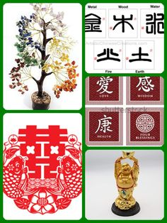 Feng Shui Symbols for Prosperity and Abundance Feng Shui Symbols, Fired Earth, Holiday Decor, Health, Terracotta, Health Care, Salud