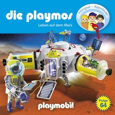 Folge 64: Leben auf dem Mars, Kapitel 2 · Die Playmos Nerf, Liv, Blogging, Products, Christmas Tree, Playmobil, Life On Mars, Red Planet, Adventure Stories