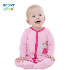 100% Cotton Newborn Baby Girl Clothes Baby Romper Body Suit Cartoon Cheap Long Sleeve Clothes roupas de bebe