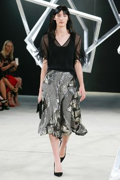 Sally LaPointe Spring 2017 Ready-to-Wear Fashion Show