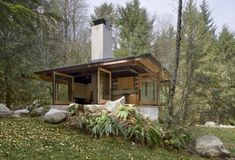 Designed in nature and eco friendly I'm happy to share with you the Tye River Cabin located in Skykomish, Washington. The architects, Olson Kundig, designed this cabin with large windows and glass ...