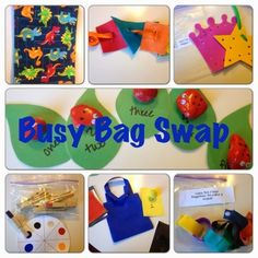 Raising Superheroes after God's Own Heart: Busy Bag Swap Take 2