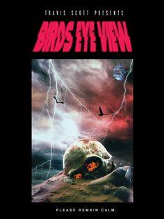 Travis Scott Announces Birds Eye View Tour Travis Scott Tour, Travis Scott Birds, Photoshop, Vaporwave, Travis Scott Wallpapers, Tour Merch, Rapper Art, Hip Hop Art, Tour Posters