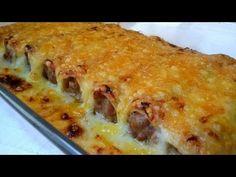 Canelones de carne muy fáciles - YouTube