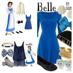 Fun back to school or dress out night clothes like a princess for those belle fans #1