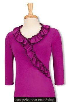 Learn pattern designing tips, using a simple knit top pattern from TV's Sewing With Nancy.
