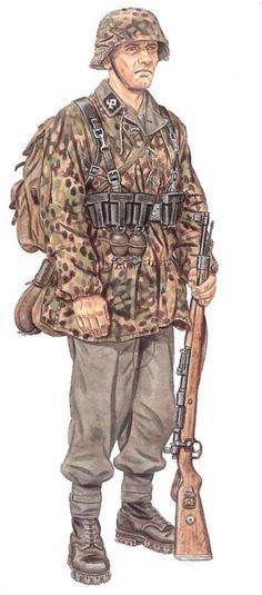 "Waffen SS - SS-Mann della 7a Waffen SS Freiwilligen Gebirgs Division ""Prinz Eugen"", pin by Paolo Marzioli"