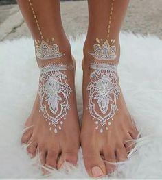 Ivory ink henna... beautiful.