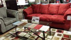 Ashley Furniture Darcy Set=$1180 Ottoman=$279 Chair=$349 Rocker Recliner=$350 Loveseat=$380 Full Sofa Sleeper=$650 Sofa=$400