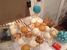 No cake pops left at the end of this party...